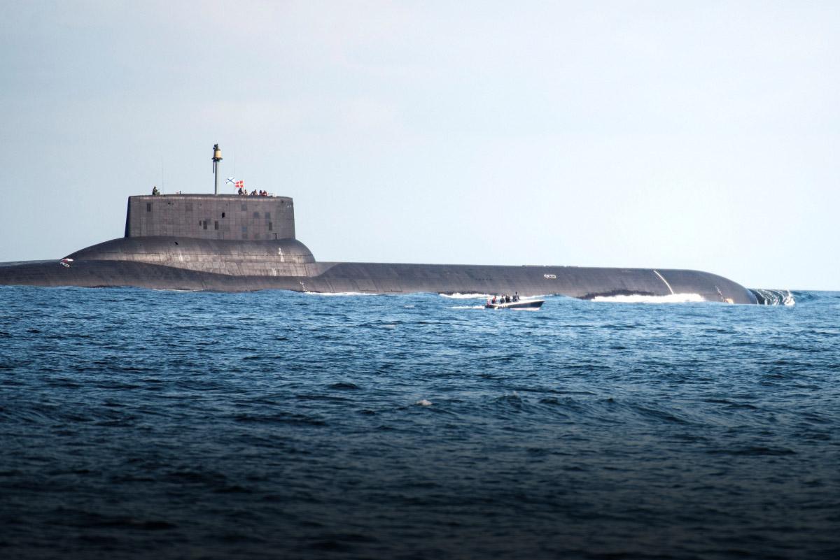 Фото самых больших подводных лодок в мире