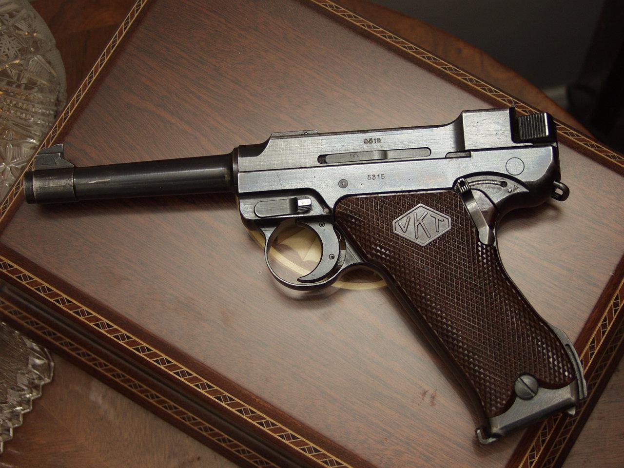 Отчет стрелкового полигона: пистолет Lahti L-35 ...